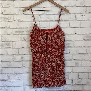 XXI Forever 21 floral romper